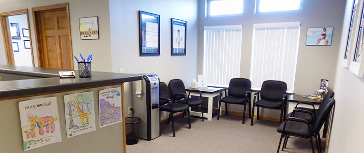 Chiropractic Eau Claire WI Patient Waiting Room Area